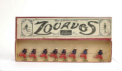 3: Britains - Set 142-French Zouaves [1925 version]