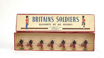 4: Britains - Set 142-FrenchZouaves [Post War]