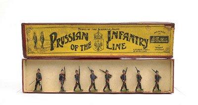 5: Britains-Set154-Prussian Infantry [1908/19].