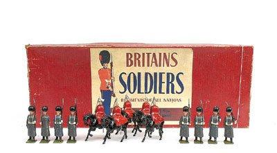 10: Britains-Set429-British Army Display [Post War]