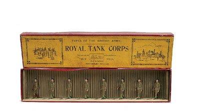 11: Britains-Set1250-Royal Tank Corps [1932 version]