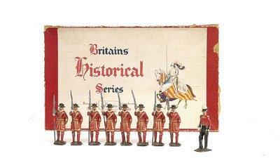 12: Britains-Set 1257-Yeoman of the Guard [Post War]