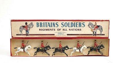 13: Britains - Set 1349 - RCMP - [Post War version]