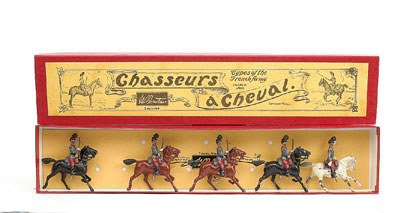 21: Britains-Set139-French Chasseurs a Cheval