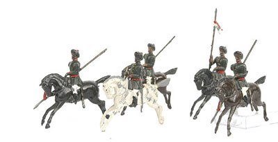 24: Britains-Set 66-1st Bombay Lancers [1922 vers]