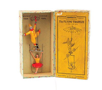 518: Britains-Set 1441-The Flying Trapeze [1936-39]