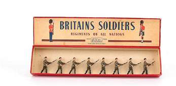 585 Britains  Set 2032  Red Army Infantry