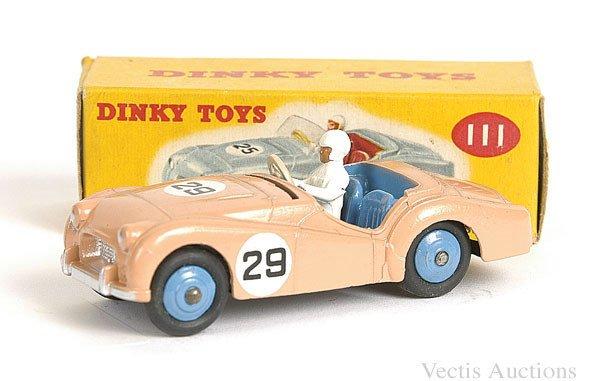 1020: Dinky No.111 Triumph TR2 Sports