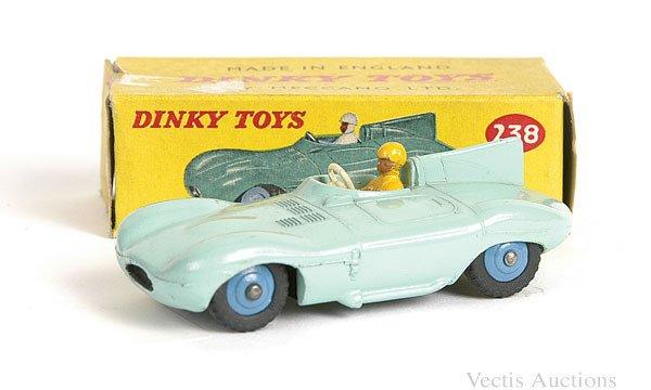1023: Dinky No.238 Jaguar D Type Racing Car