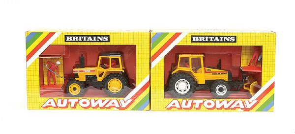 1735: Britains- A group of Autoway Models