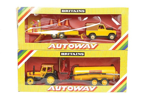 1738: Britains - A group of Autoway Models