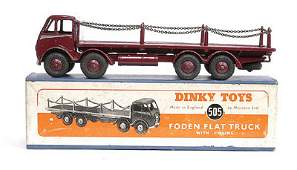 2530: Dinky No.505 Foden Flat Truck with Chains