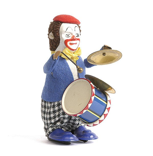 2: Schuco - 986/3 - Solisto Clockwork Clown