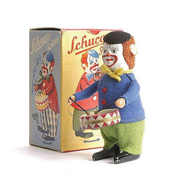 4: Schuco - 986/1 - Solisto Clockwork Clown Drummer
