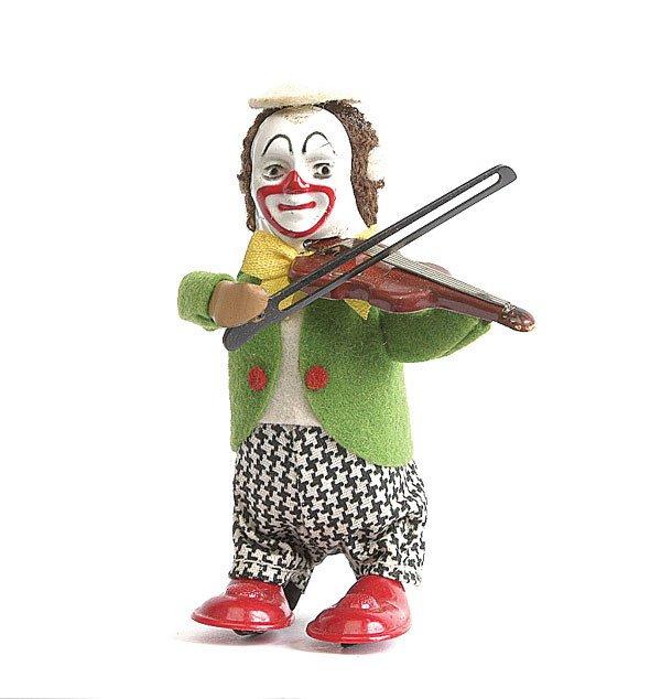 5: Schuco 986/2 - Solisto Clockwork Clown Violinist