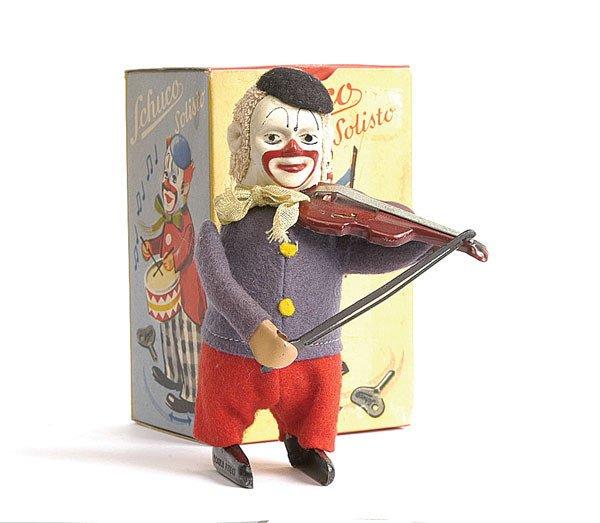 8: Schuco - 986/2 - Clockwork Clown Violinist