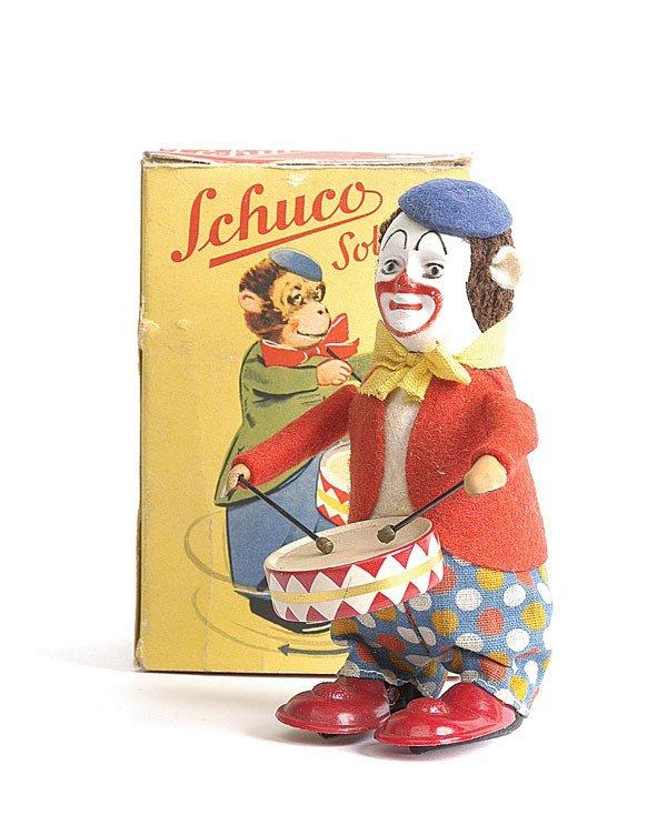 9: Schuco - 986/1 - Clockwork Clown Drummer