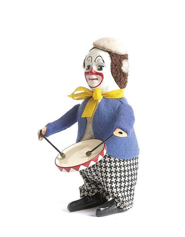 12: Schuco - 986/1 - Clockwork Clown Drummer