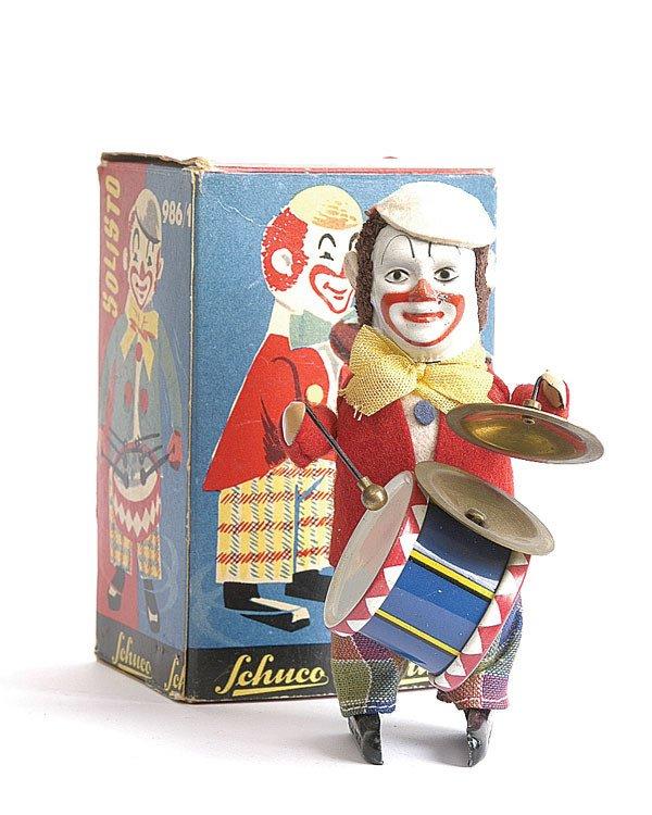 13: Schuco - 986/3 - Clockwork Clown