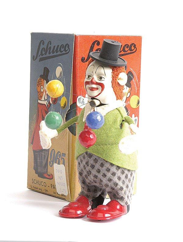 14: Schuco - 965 - Clockwork Clown Juggler