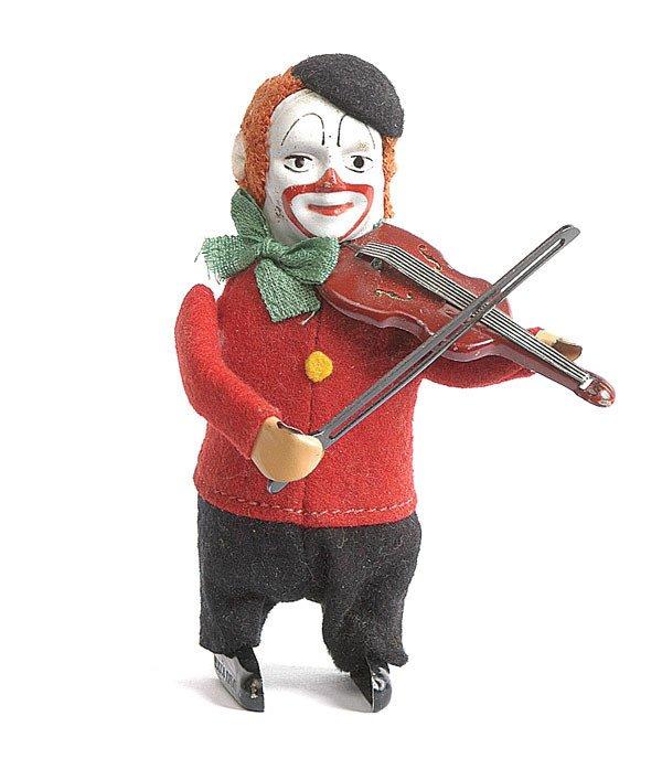 15: Schuco - 986/2 - Clockwork Clown Violinist