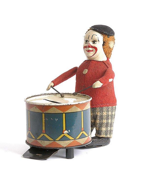 16: Schuco - 986/5 - Clockwork Clown Drummer