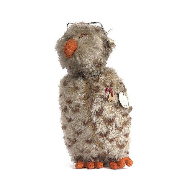 172: A rare Schuco Yes/No factory sample owl