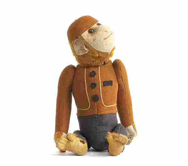 180: A Schuco Yes/No Bellhop Ape