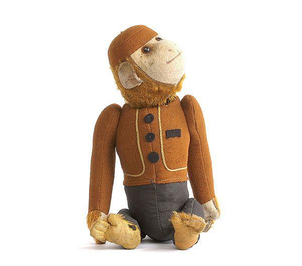 A Schuco Yes/No Bellhop Ape
