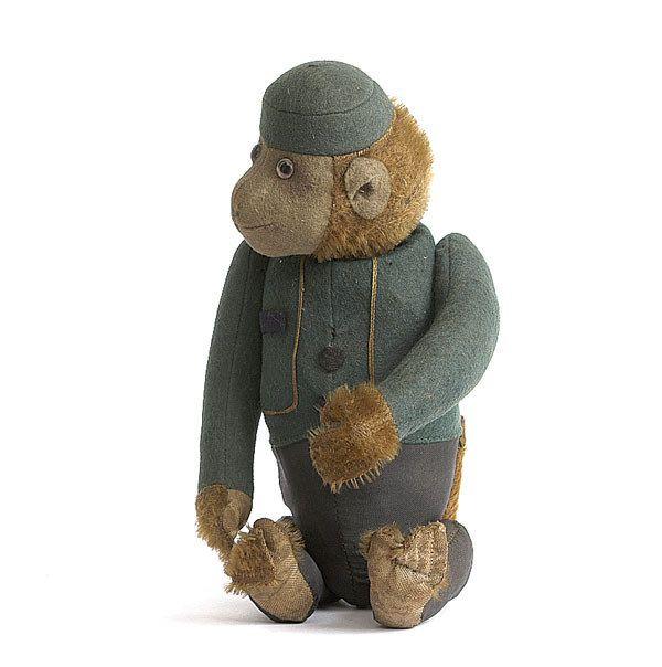 181: A Schuco Yes/No Bellhop Ape