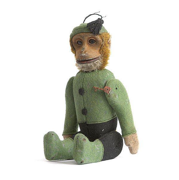 182: A Schuco Yes/No Schnico Bellhop Chimpanzee