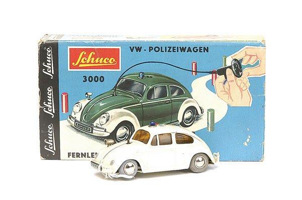 615: Schuco - 3000 VW Beetle Police Car