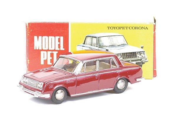 1021: Asahi (Model Pet ATC) No.27 Toyopet Corona