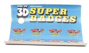 """1140: Model Toys """"Starsky and Hutch"""" 3D Super Badges"""