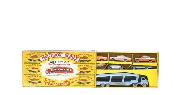 1491: Matchbox No.G2 Car Transporter Gift Se