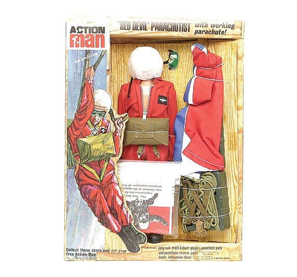 2001: Palitoy Action Man Red Devil Parachutist Outfit