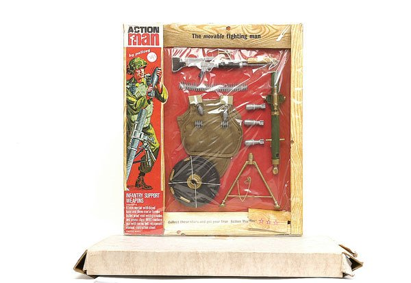 2002: Palitoy Action Man Infantry Support Weapons Kit