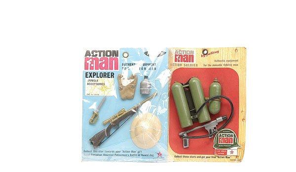 2008: Palitoy Action Man Explorer Jungle Accessories
