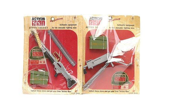 2010: Palitoy Action Man Browning Machine Gun