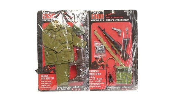 2012: Palitoy Action Man US Green Beret Uniform Set