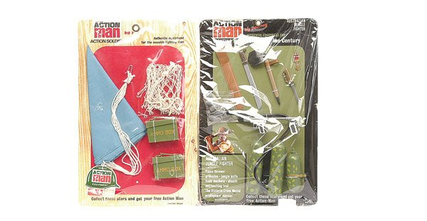 2013: Palitoy Action Man Supply Parachute