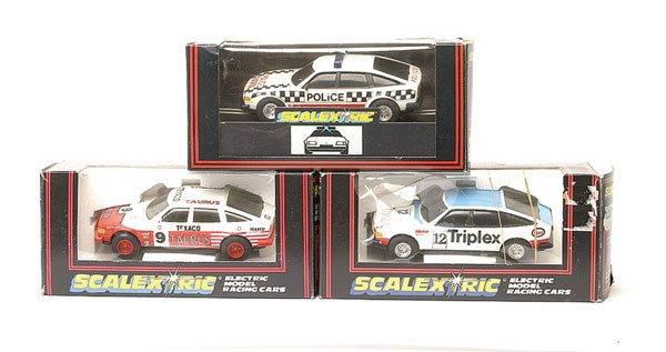 12: Scalextric C384 Rover 3500, No.C384 & No.C362