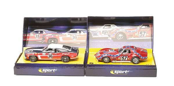 17: Scalextric - a group of 3