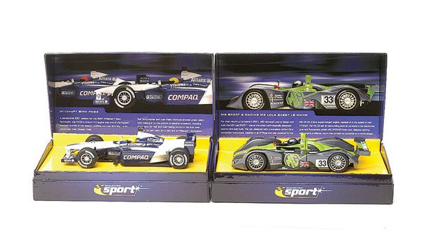 18: Scalextric - a group of 4