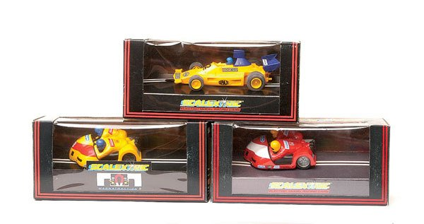 23: Scalextric - a group of 5
