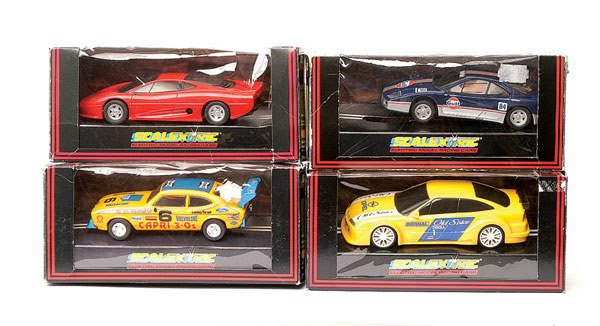 24: Scalextric - a group of 4