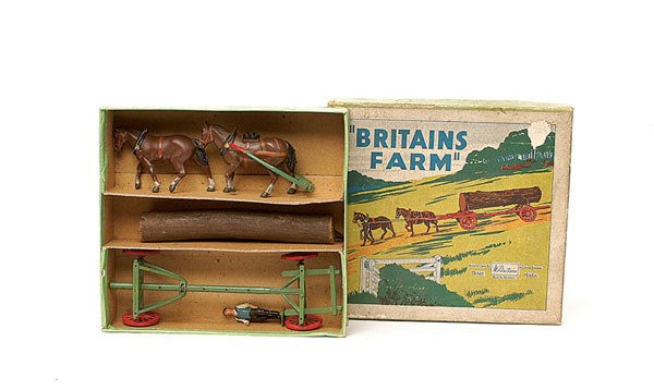 1011: Britains - No.12F Timber Carriage