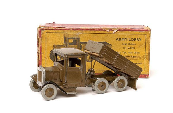 1013: Britains - No.1335 Army 6-wheeled Lorry