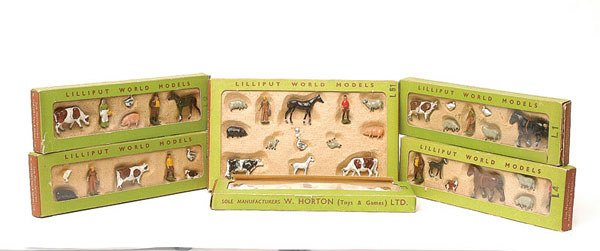 1017: Britains Lilliput World - a group of 6 Gift Sets