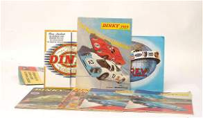 1475 Dinky  miscellaneous collection Catalogues